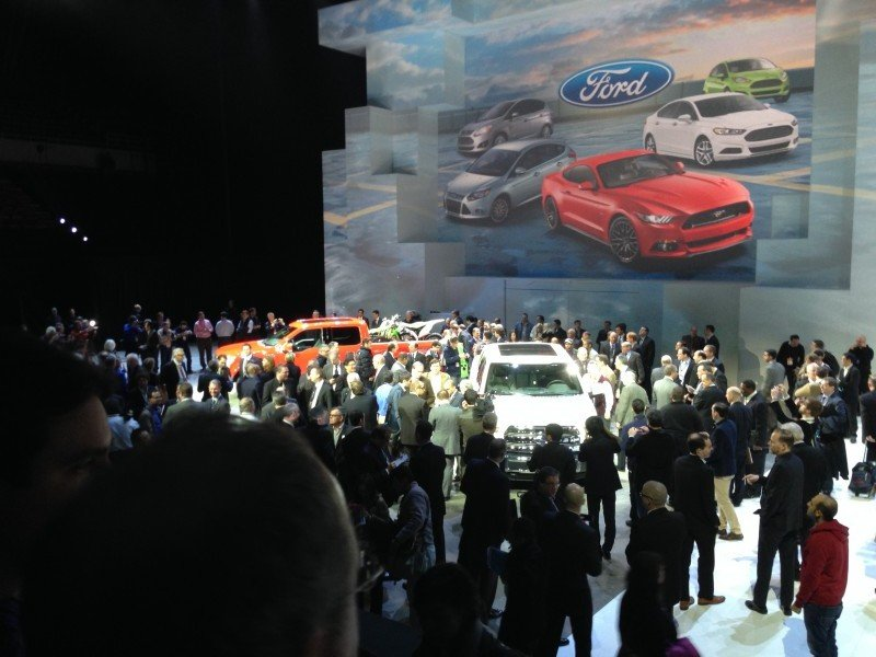 After the Press Conference FordNAIAS