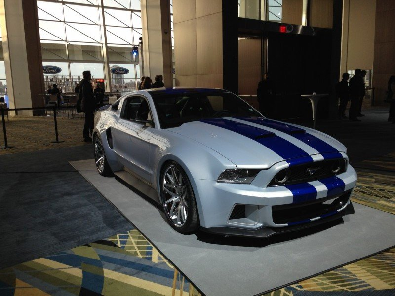 FordNAIAS Need for Speed Mustang