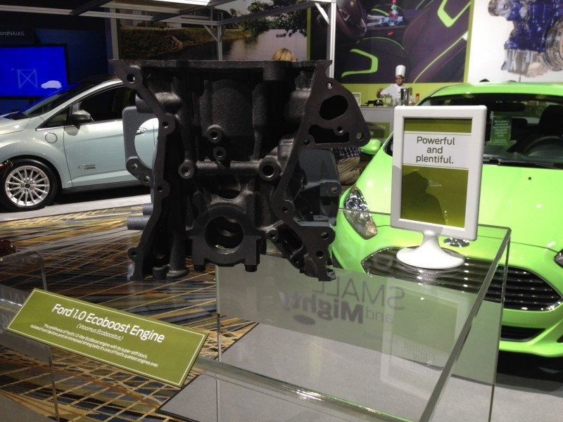 FordNAIAS 1.0 Ecoboost Engine