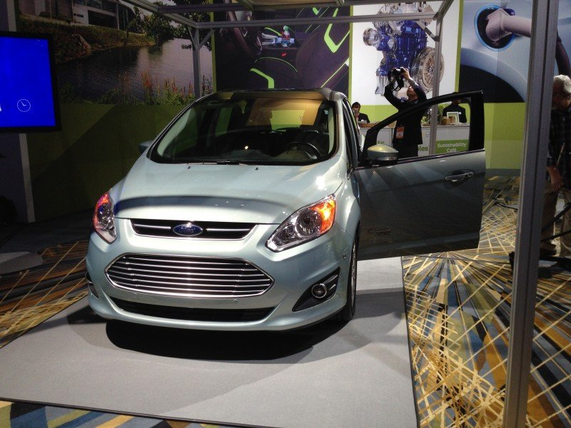 FordNAIAS Solar Power C-Max