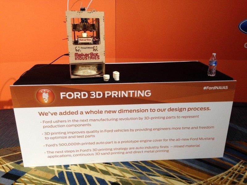 FordNAIAS 3D Printing