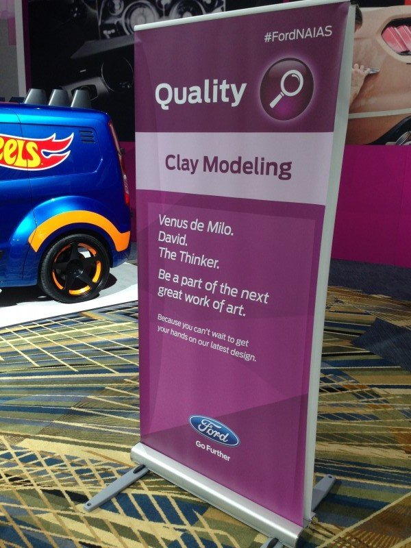 FordNAIAS Clay Modeling