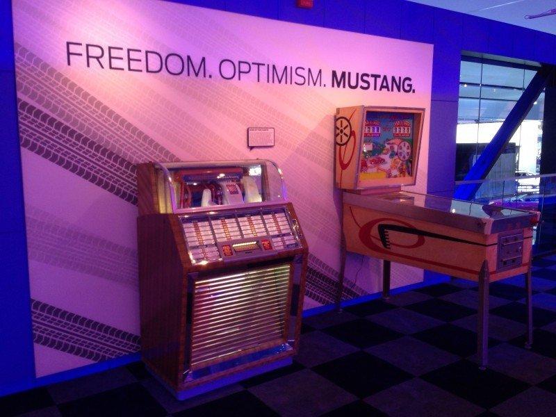 FordNAIAS Mustang 50th Anniversary