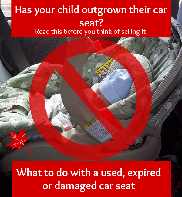 Expired Car seat