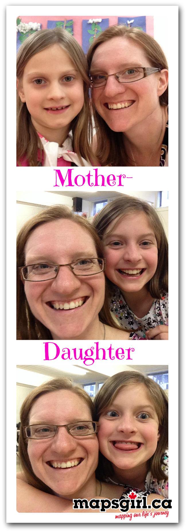 Mother Daughter Events ~ Wordless Wednesday