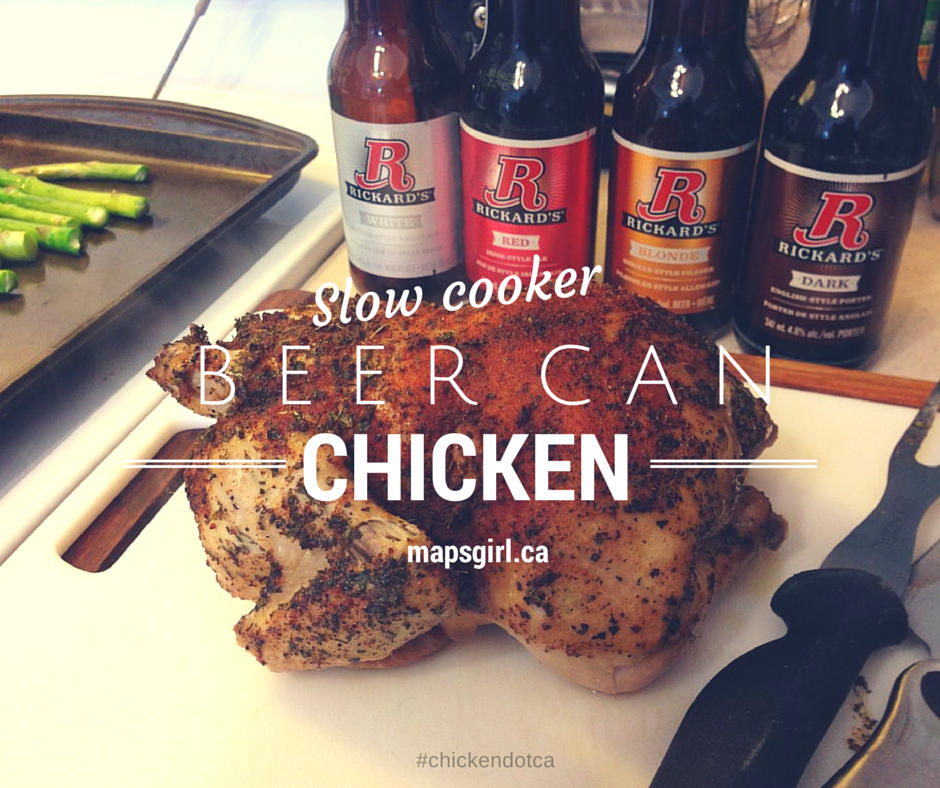 Rickard's Beer Can Chicken #chickendotca