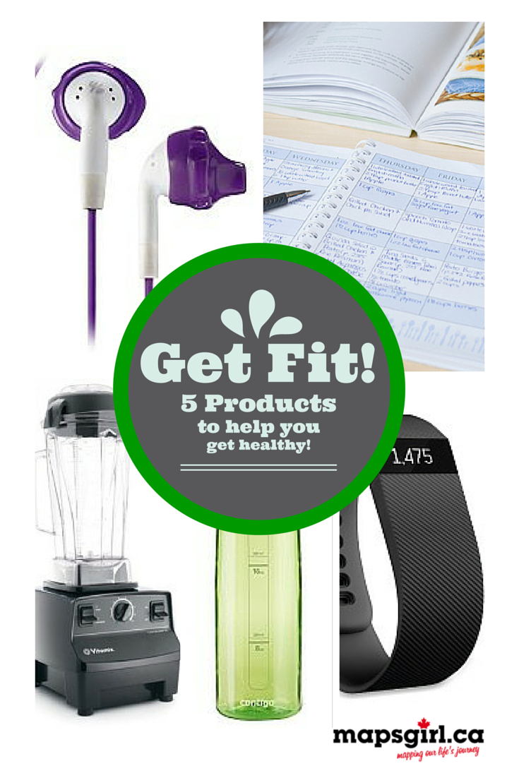 5 Products to help you get healthy @ mapsgirl.ca