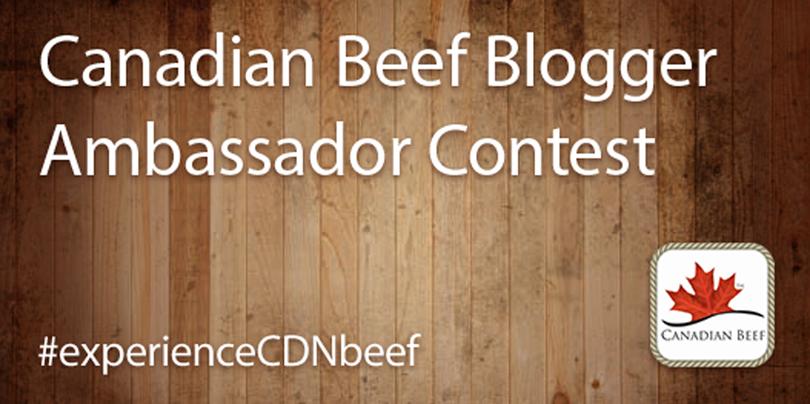 Canadian Beef Blogger Ambassador