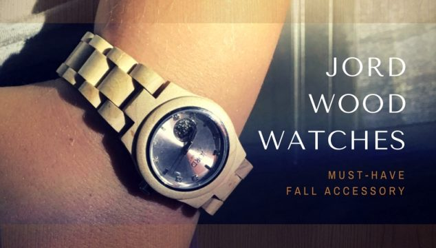 JORD Wood Watches are a must-have fall accessory! #jordwatch #fallaccessories @woodwatches_com