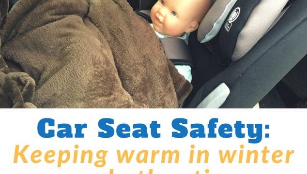 Winter Car Seat Safety @ mapsgirl.ca